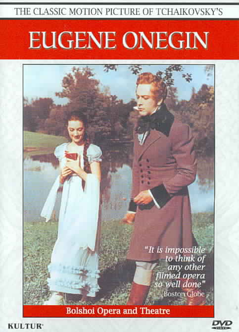 EUGENE ONEGIN BY BOLSHOI OPERA (DVD)